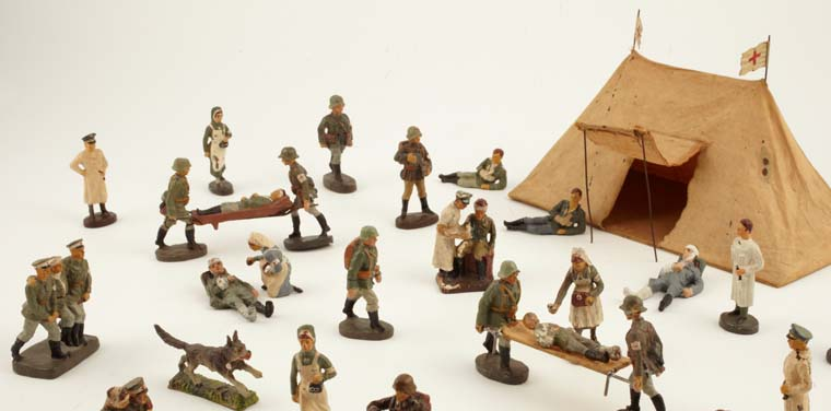 German Toy Soldiers Set