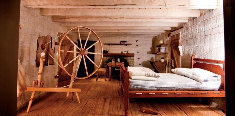 Lincoln Log Cabin Interior