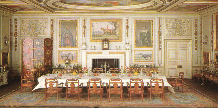 Queen Mary's Dollhouse Dining Room