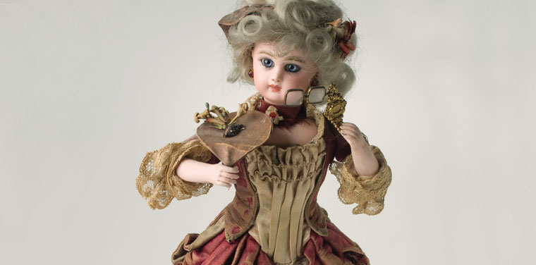 Tete Jumeau Mechanical Doll
