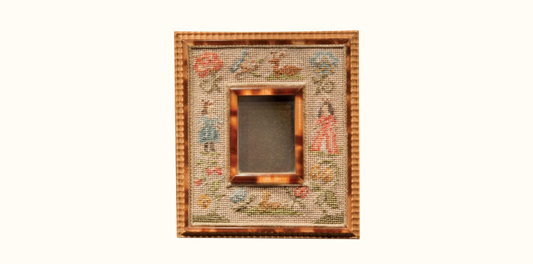 Needlepoint Mirror