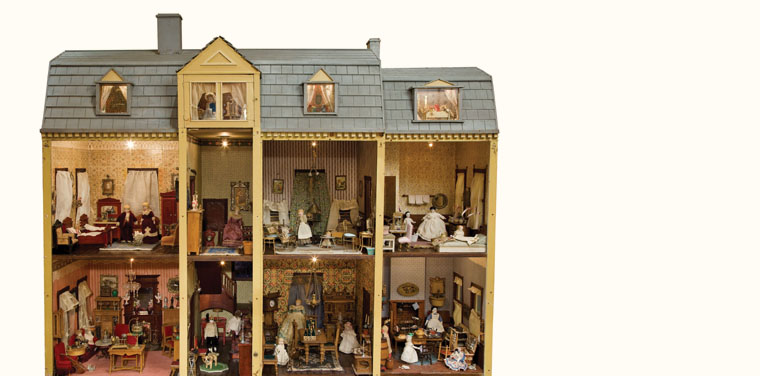 New Rochelle Mystery Dollhouse