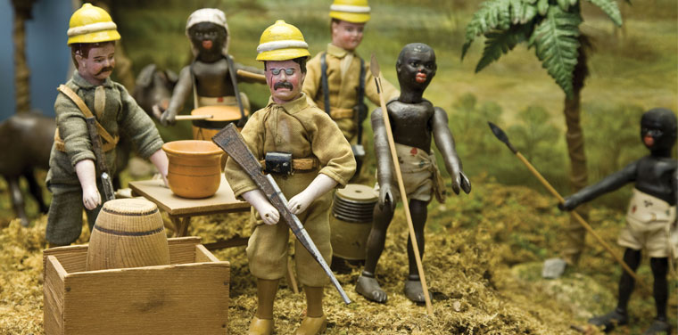 Teddy Roosevelt's Adventures in Africa Playset
