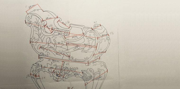 Jardiniere Sketch
