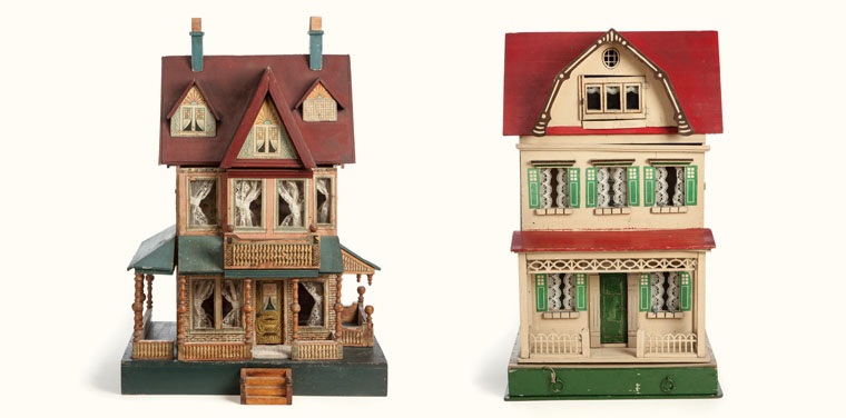 Bliss Dollhouse and Gottschalk Dollhouse