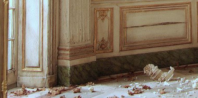 fine-scale miniature palace of versailles