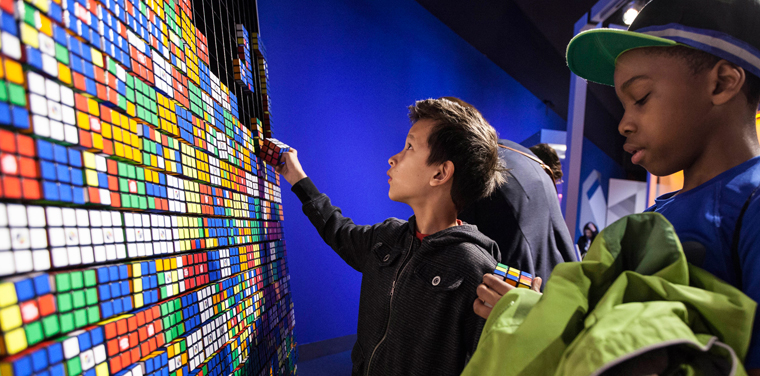 beyond rubik's cube exhibit
