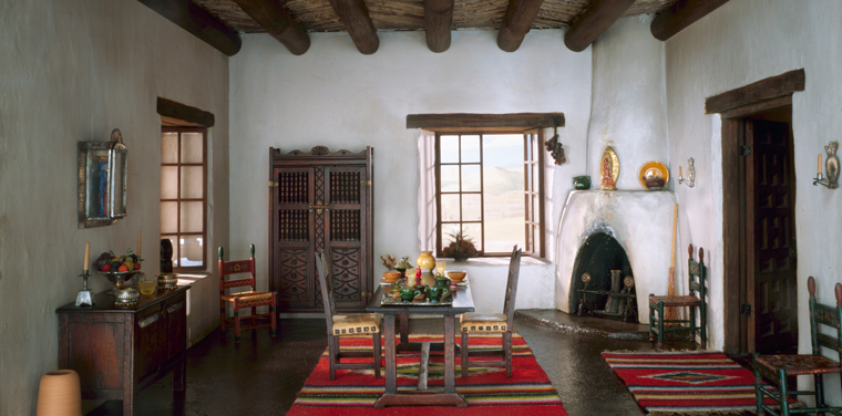 thorne rooms new mexico dining room