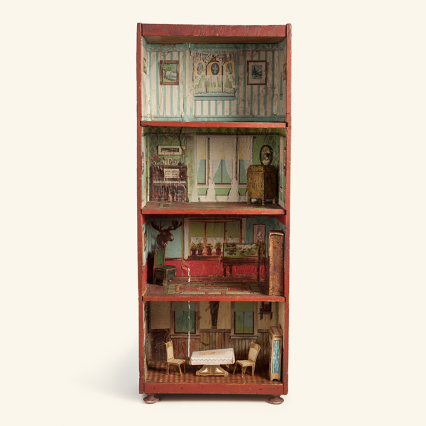 Dunham Cocoanut Dollhouse The National Museum Of Toys