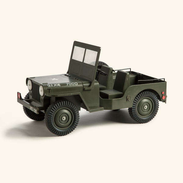 Jeep National City >> G.I. Joe Jeep - The National Museum of Toys and Miniatures