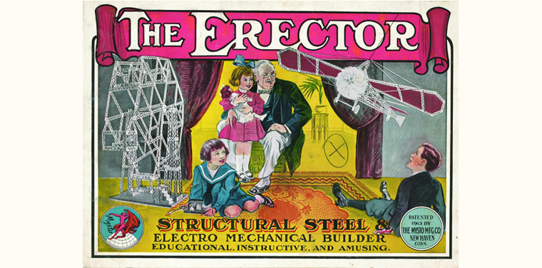Erector Set's 100th anniversary