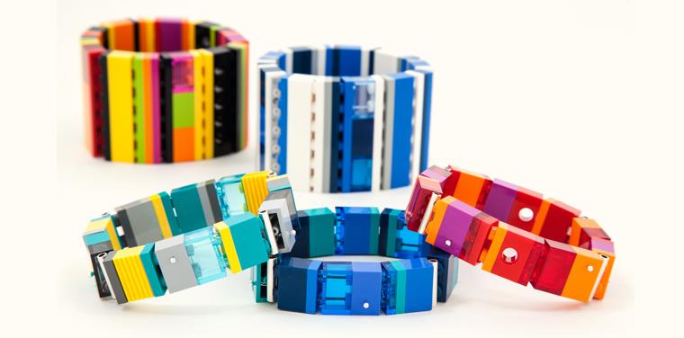 emiko oye LEGO jewelry