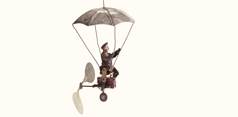 mechanical flying toys