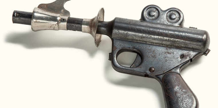 A Pistol from the (Past) Future