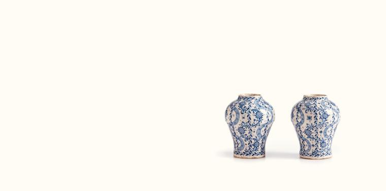 Miniature Talavera pottery