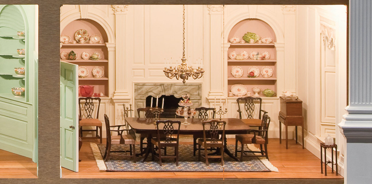Miniature Dining Room Furniture
