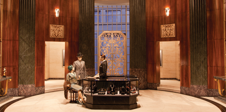 A Rare Gem: Collaborating on the Art Deco Jewelry Store
