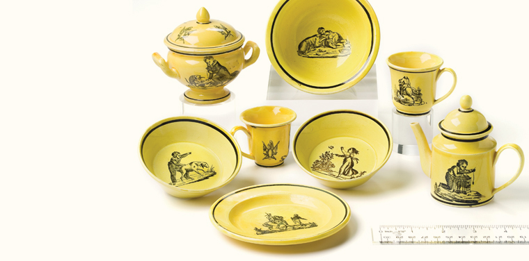 Steeped in History: The Montereau Tea Set