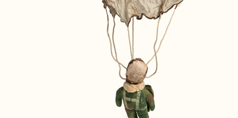 raggy doodle paratrooper doll