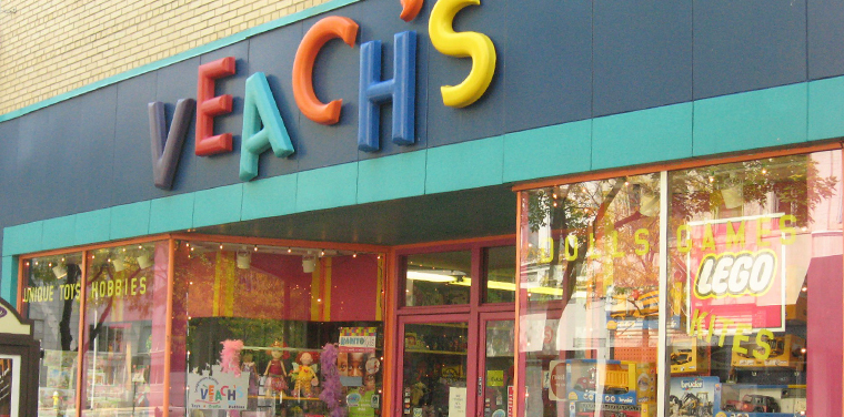 Veach's Toy Station