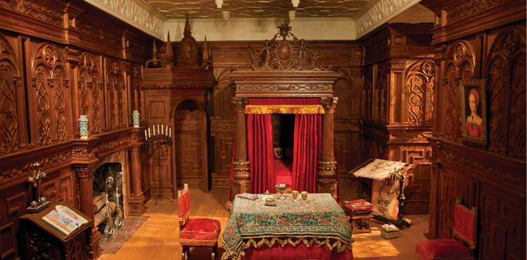 From Whittling to Wood Carving: A Tudor Bedroom