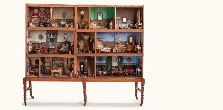 Annie Horatia's Dollhouse History