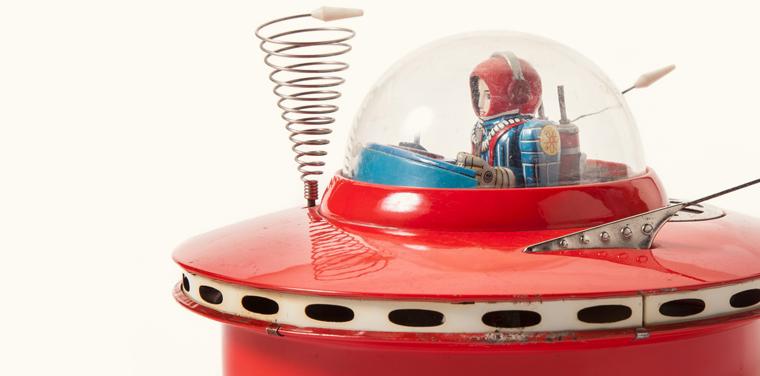 Vintage Space Toys