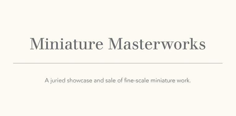 Miniature Masterworks: Peter Gabel