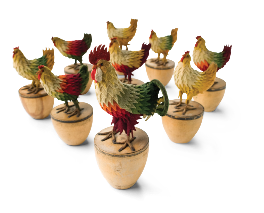 Rooster-Skittles