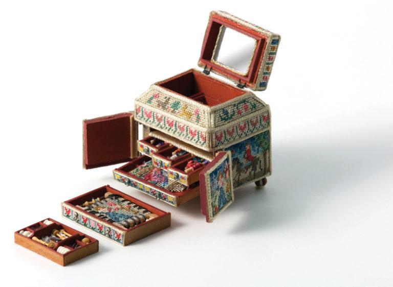 sewing casket