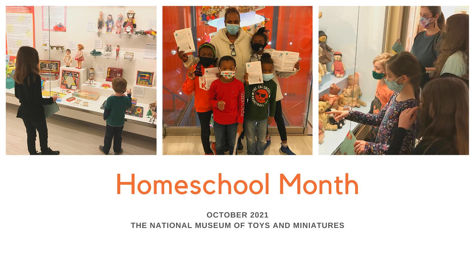 Homeschool Month 2021 graphic